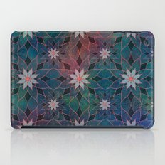 Water Lily Pattern iPad Case