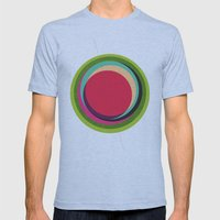 FUTURE GLOBES 002 Mens Fitted Tee Athletic Blue SMALL