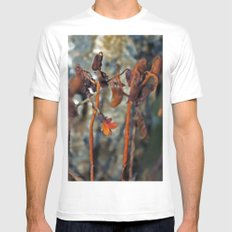 Flowers for algernon White SMALL Mens Fitted Tee