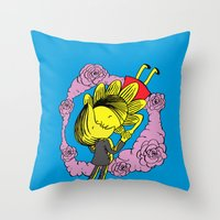 Kiss Of Night And Day Throw Pillow