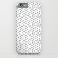 iPhone & iPod Case featuring Karthuizer Grey & White Pattern by Stoflab