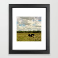 A Little Bit Country Framed Art Print