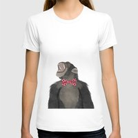 monkey T-shirts featuring Monkey by Made By Mary