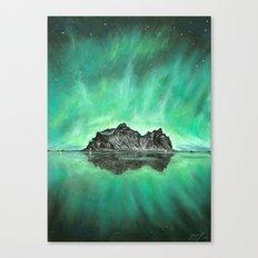 Aurora Island Canvas Print