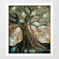 Radiant Oak Art Print