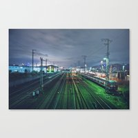 It's Always Darkest Befo… Canvas Print