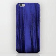 Nightblue Woods iPhone & iPod Skin