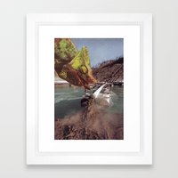 Collage #17 Framed Art Print
