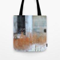 Droplets, 3 Tote Bag