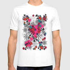 heart is home White Mens Fitted Tee SMALL