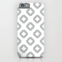 Graphic_Tile Grey iPhone 6 Slim Case