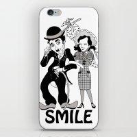 Charlie Smile iPhone & iPod Skin