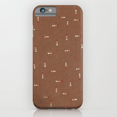 Canvas Dot Line Design iPhone 6 Slim Case