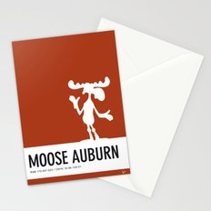 No19 My Minimal Color Code poster Bullwinkle Stationery Cards