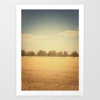 Travelling Memories: Pure Nature (Denmark) Art Print