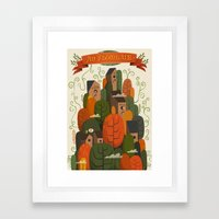An Fhomhair (Autumn) Framed Art Print