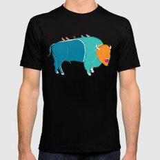 Bristol Bison SMALL Mens Fitted Tee Black