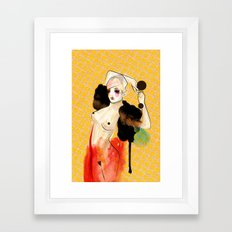 Just Another Night... Framed Art Print