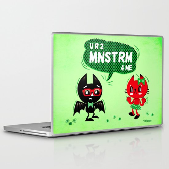 U R 2 MNSTRM 4 ME Laptop & iPad Skin