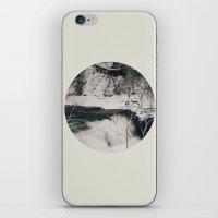 Winter Falls Circular iPhone & iPod Skin