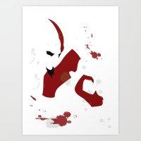 God Of War - Kratos Art Print