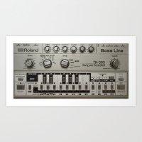 Roland TB303 Acid Bassli… Art Print