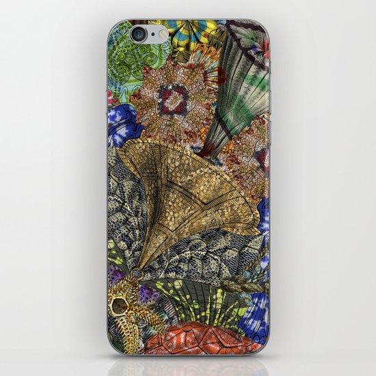 Psychedelic Botanical 4 iPhone & iPod Skin