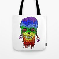 Melty Face Tote Bag