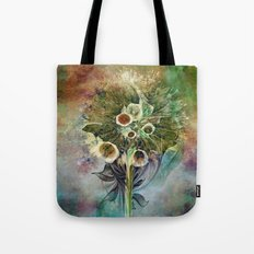 Fractal Bouquet - color variation Tote Bag