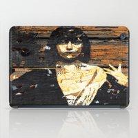 Wood /Grunge Textured (G… iPad Case