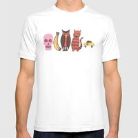 The Unusual Suspects Mens Fitted Tee White SMALL