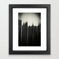 STEEL & MILK Framed Art Print