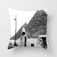 Trullo2 Throw Pillow
