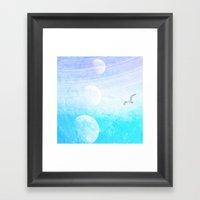 Many Moons Ago Framed Art Print