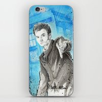 Doctor Who: The 10th Doc… iPhone & iPod Skin