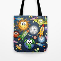 Solar Spaced Out. Tote Bag