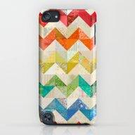 Chevron Rainbow Quilt iPod touch Slim Case