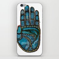 The Hand Of (Free)Time iPhone & iPod Skin