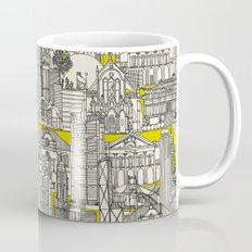 Hong Kong toile de jouy chartreuse Mug