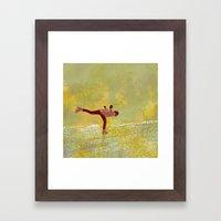 Dreamers fly Framed Art Print