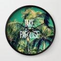 TAKE ME BACK TO PARADISE II  Wall Clock