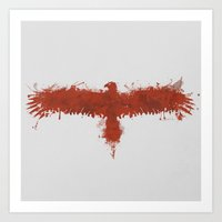 blood eagle Art Print