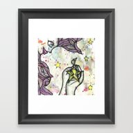 Catching Angels Framed Art Print