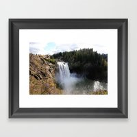 Twin Peeks No.1 Framed Art Print