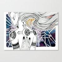 Totem I Canvas Print
