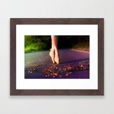 Ballet Steps II Framed Art Print