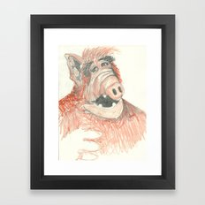 Alf Framed Art Print