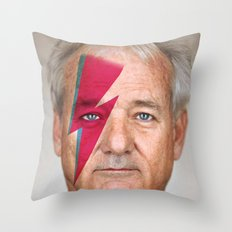 bill murray Throw Pillow