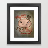 wiggles Framed Art Print