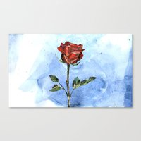 The Little Prince's Rose Canvas Print